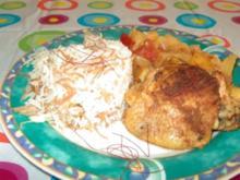 Spanisches Hähnchen - Rezept