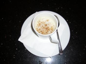 Cappuccino von weißen Bohnen und Morcheln - Rezept