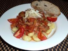 Gnocchi mit geschmolzenen Tomaten - Rezept