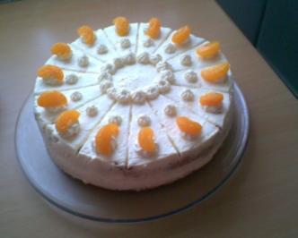 3 Frischkase Mandarinen Torte Rezepte Kochbar De