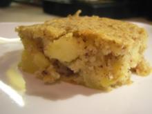 Kuchen: Apfel-Nuss-Joghurt vom Blech - Rezept