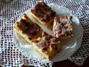 Rezept: Apfel-Marzipankuchen