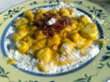 Gnocchi mit Zupffleisch - Rezept