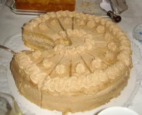 Mocca Sahne Torte - Rezept