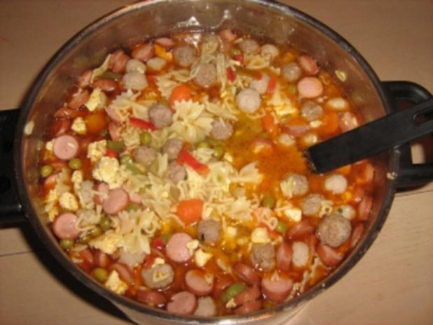 Gemüsesuppe - Rezept - Bild Nr. 2