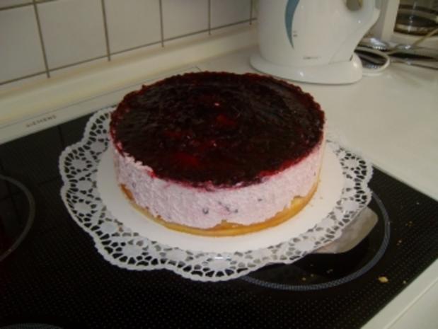 Mini Windbeutel Torte - Rezept