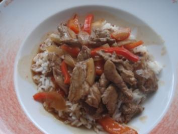 Ming's Chinapfanne - Rezept