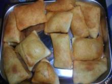 Salzige Pfannkuchen für eure Partysuppe - Rezept