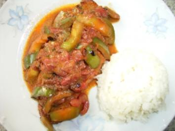 Rezept: Paprika- Schnitzel ungarisch