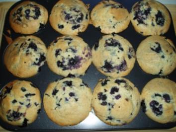 Heidelbeer - Muffins - Rezept