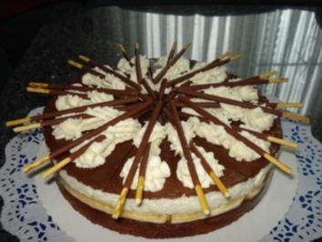 Rezept: Mikado-Torte