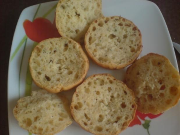"""Muffins, herzhaft """"Hüttenkäse"""" mit Frischkäse-Räucherlachs-Füllung - Rezept - Bild Nr. 4"""