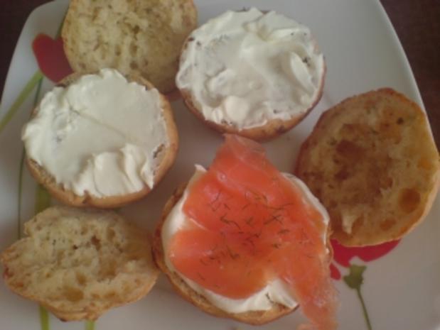 """Muffins, herzhaft """"Hüttenkäse"""" mit Frischkäse-Räucherlachs-Füllung - Rezept - Bild Nr. 5"""