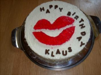 """Quark-Sahne Torte """"Kußmund"""" - Rezept"""