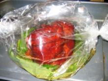 Fleisch: Kräuterschulter im Schlauch - Rezept