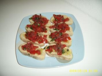 Bruchetta - Rezept