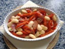 Spanischer Bohnensalat - Rezept