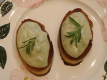 Tapa  Bohnen-Crostini - Rezept