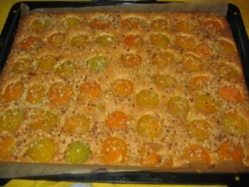 Rezept: Saftiger Aprikosenkuchen!