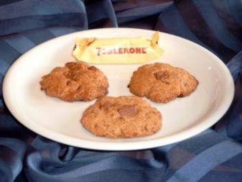 Toblerone-Cookies - Rezept