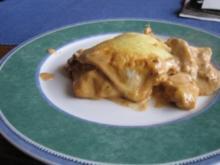 Tandoori-Chicken-Lasagne - Rezept