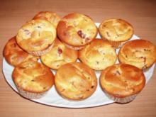 Quark-Muffins mit Kirschen - Rezept