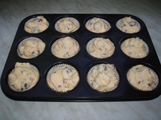 Quark-Muffins mit Kirschen - Rezept - Bild Nr. 2
