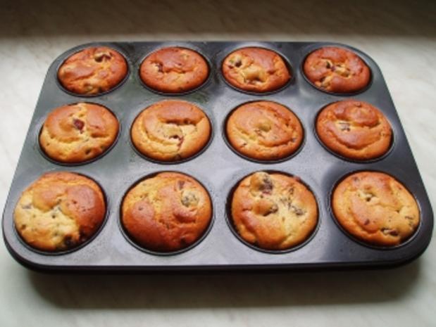 Quark-Muffins mit Kirschen - Rezept - Bild Nr. 3