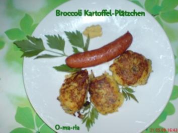 Gemüse Broccoli-Kartoffel-Plätzchen - Rezept