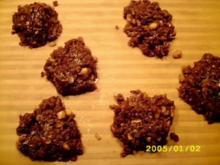 Erdnuss-Schoko-Haferflocken-Bomben - Rezept
