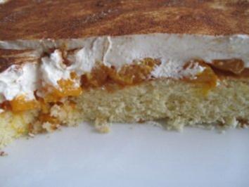Schmand-Kuchen mit Mandarinen - Rezept