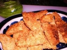 FISCH: Fischfilets in Sesamkruste mit Ingwer-Erbspürree - Rezept