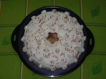 Buttercreme Torte - Rezept