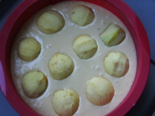 Versunkener Apfelkuchen - Rezept - Bild Nr. 2