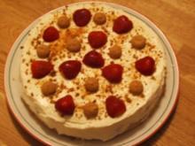 Erdbeer-Mascarpone-Torte - Rezept
