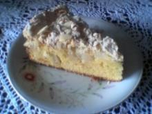 Apfelkuchen mit Baiser - Rezept