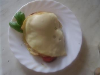 Käse-Tomaten-Brote - Rezept