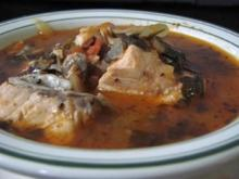 Fischsuppe mit Red Snapper (auf arabisch) - Rezept