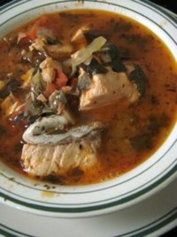 Fischsuppe mit Red Snapper (auf arabisch) - Rezept - Bild Nr. 2