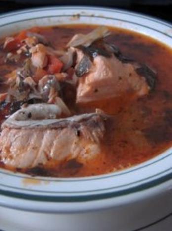 Fischsuppe mit Red Snapper (auf arabisch) - Rezept - Bild Nr. 3