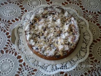 Marzipan-Kirsch-Schnitten - Rezept