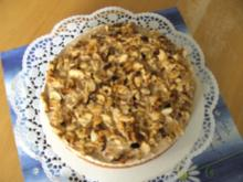 Cappuccino Krümel-Torte - Rezept