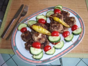 Bifteki Spieße - Rezept