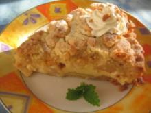 Streuselkuchen mit Rahmguss - Rezept