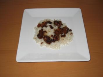 Schalottenfleisch mit Sojasauce - Rezept