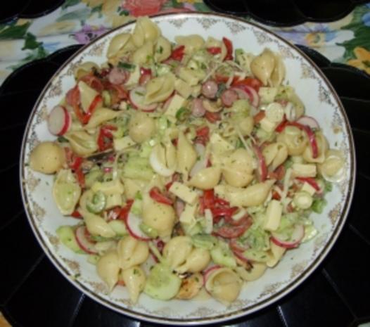 Sommerlicher Nudelsalat a la Linda - Rezept - Bild Nr. 6