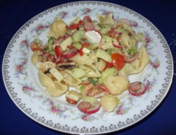 Sommerlicher Nudelsalat a la Linda - Rezept - Bild Nr. 9
