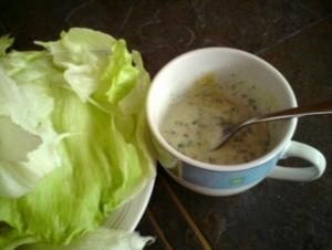 Joghurtdressing für Salat - Rezept