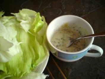 Rezept: Joghurtdressing für Salat