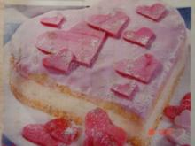 Herzige Valentins- Torte - Rezept